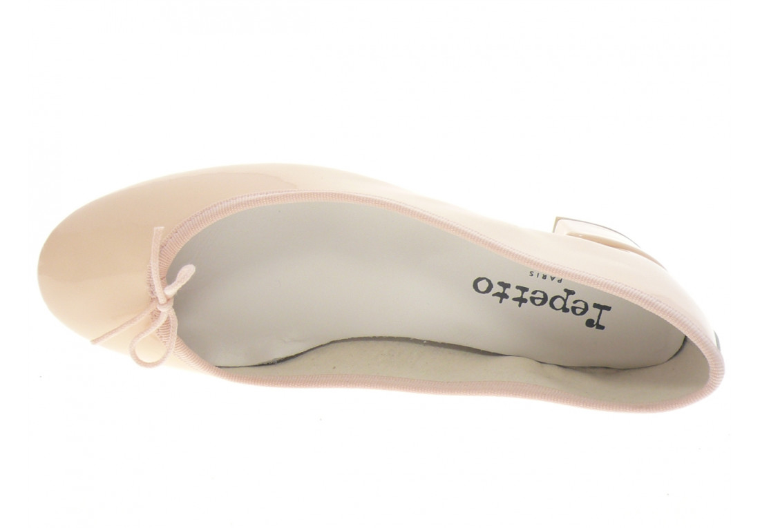 repetto - Ballerine CAMILLE - VERNIS ROSE PALE