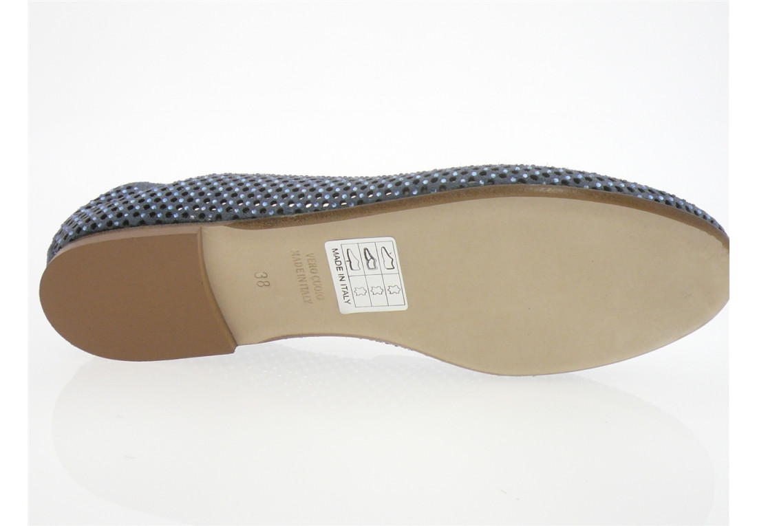 Fru.It Now - Ballerine 5319 E19 - DAIM BLEU