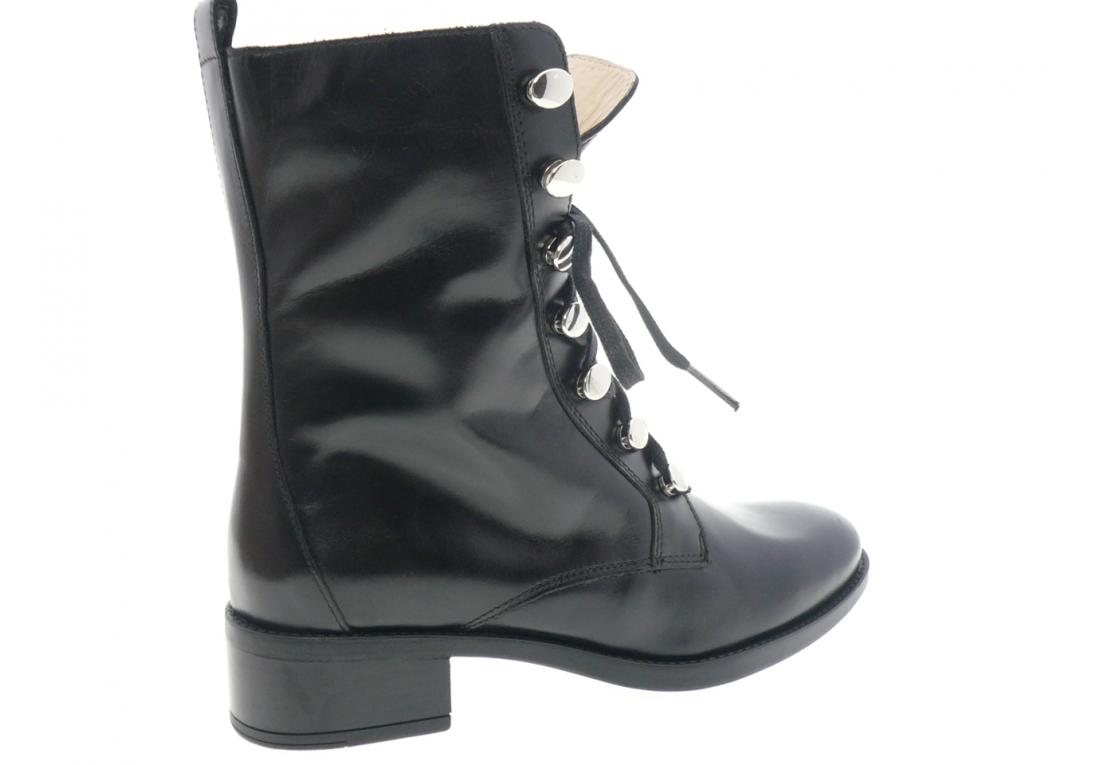 unisa - Boots EUGENE - NOIR