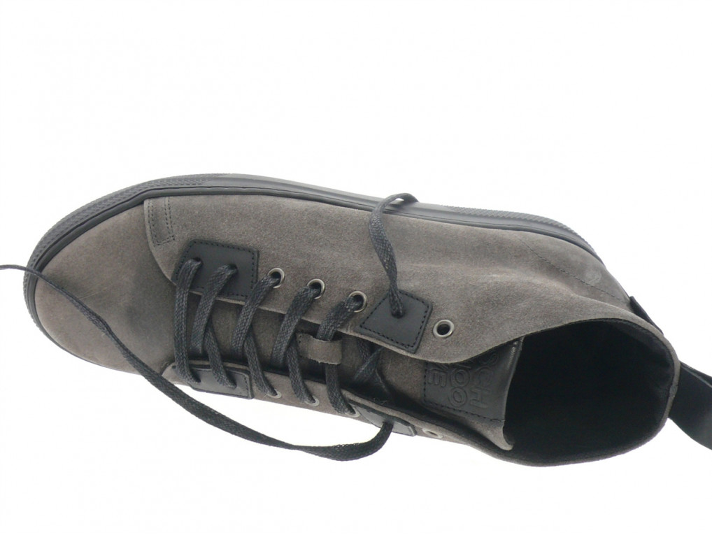 Schmoove - Boots SPARK HIGHT CUT - DAIM GRIS