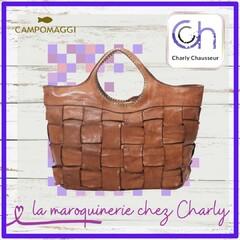 """Charly Chausseur, c'est des chaussures mais aussi de la maroquinerie avec en exclu la marque """"Campomaggi""""  Un design unique et une fabrication à toute épreuve.  #sacàmain #femmes #chic #campomaggi"""