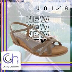 Créatives et sans chichi, c'est cela qui caractérise les chaussures Unisa !!   Pour un été les pieds au frais 😅  Nouveaux modèles en boutique et sur https://www.charlychaussures.com/  #été #unisa #top #tendance #chic
