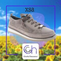 Nouvelle saison, nouvelle collection !!!  Nous chez Charly, on adore ça.  Découvrez aujourd'hui cette nouvelle paire de la marque XSA, à retrouver en boutique et ici https://www.charlychaussures.com/  #new #rentrée #xsa #Béziers
