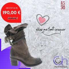 Du style forcément avec la marque Air Step AS.98 et de la qualité à prix soldé. Ici chez Charly on est carrément en love sur ce modèle et vous ?? 🤩🤩 A retrouver forcément sur https://www.charlychaussures.com/  #soldes #AS98 #chaussures #femme #hiver #winter