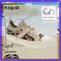 Esprit Savane pour ce nouveau modèle de la marque Requins, nous chez Charly ça donne envie de voyager.  A retrouver ici https://www.charlychaussures.com/ et en boutique.  #requins #savane #voyage #chaussures #shoes #style