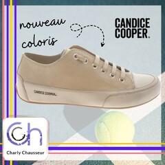 On vous l'a déjà présenté ici, vous le savez on adore la tennis chic de la marque Candice Cooper, retrouvez-là cette fois-ci dans un nouveau coloris.🤗  Sur https://www.charlychaussures.com/ et en boutique.  #candicecooper  #newcouleur #love #top