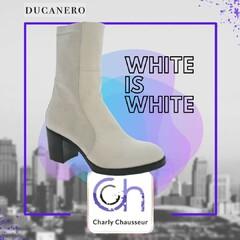 On vous le dit 📣   Le Blanc c'est tendance 💗💗  Cette paire de boots de la marque italienne Ducanero, va faire craquer 😮  A shoper ici 🛒 https://www.charlychaussures.com/ et toujours en exclu Charly au 22-24 Rue Française à Béziers.  Alors vous aimez ?  #ducanero #whiteiswhite #tendance